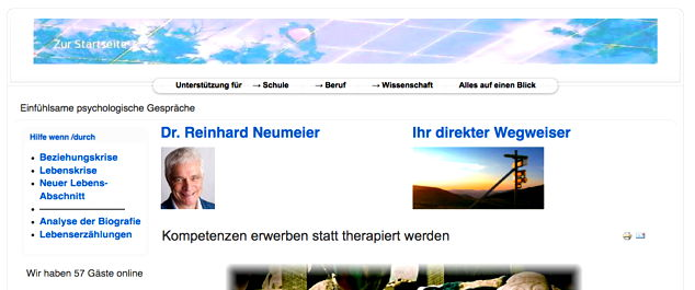 Website reinhard-neumeier.at